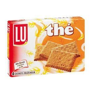 BISCUIT SABLÉ Lu biscuits thé 335g