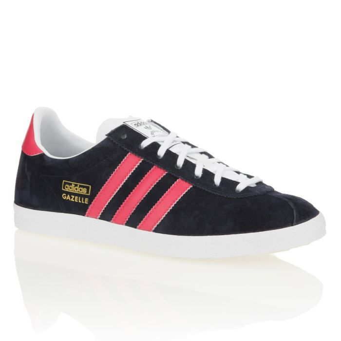 adidas baskets gazelle og femme femme bleu marine et rose achat vente adidas baskets gazelle. Black Bedroom Furniture Sets. Home Design Ideas