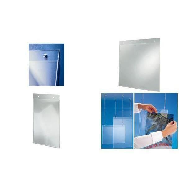 Porte affiches format a5 en acrylique transpare achat for Format porte