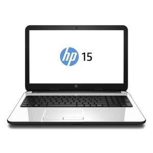 HP PC portable 15-r128nf (blanc perle)