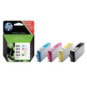 CARTOUCHE IMPRIMANTE HP 364XL 364 Cartouche d'encre Couleurs + Noir XL