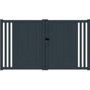 portail 3m achat vente portail 3m pas cher les soldes sur cdiscount. Black Bedroom Furniture Sets. Home Design Ideas