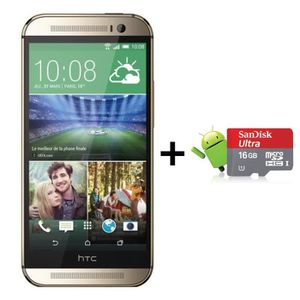 HTC One M8 Or + CarteSD 16Go