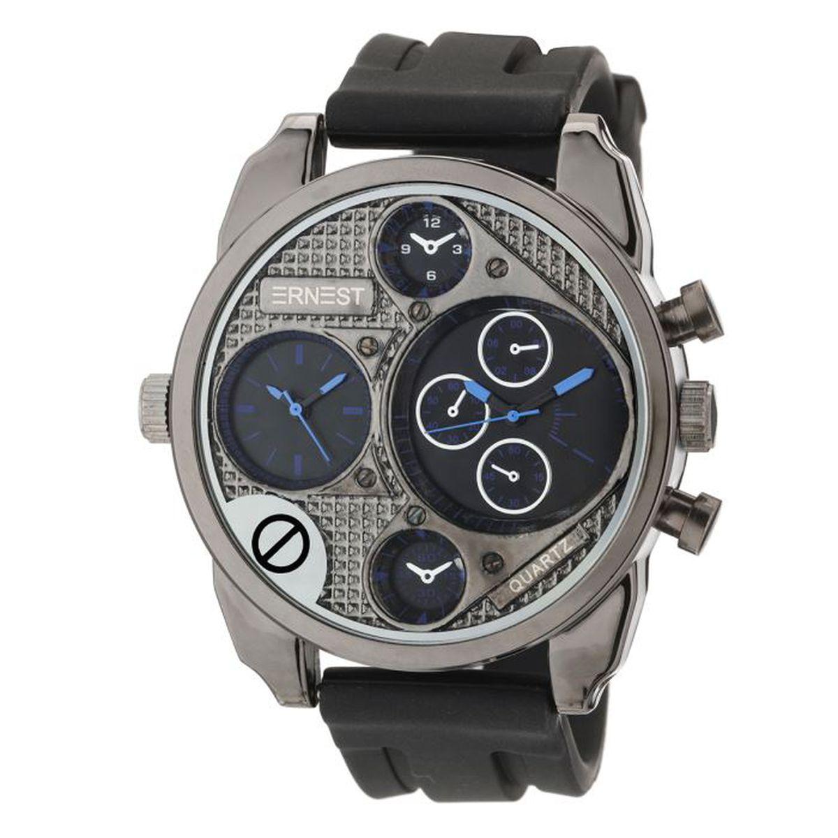 ernest montre homme achat vente montre montre homme cdiscount. Black Bedroom Furniture Sets. Home Design Ideas