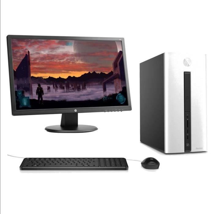 Hp pc de bureau 550306nf 8go de ram intel core i5 for Pc bureau 64 go ram