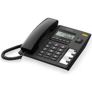 Téléphone fixe Alcatel T56 Noir