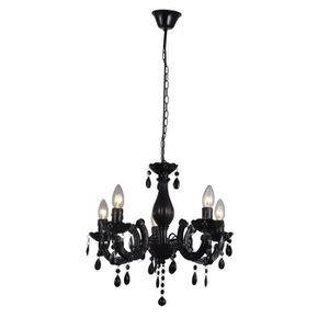 chandelier 5 branches achat vente chandelier 5 branches pas cher soldes cdiscount. Black Bedroom Furniture Sets. Home Design Ideas