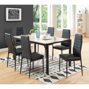 Chaises achat vente chaises pas cher les soldes sur - Lot de 6 chaises de salle a manger pas cher ...
