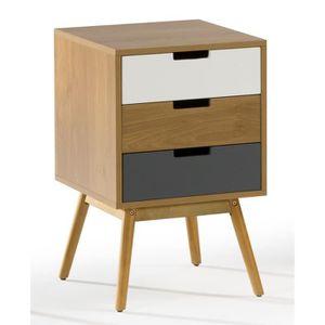 table de chevet 40 cm achat vente table de chevet 40. Black Bedroom Furniture Sets. Home Design Ideas