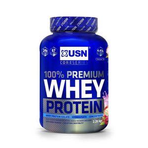 PROTÉINE USN Protéine 100% Whey Framboise 2.28 Kg NTT