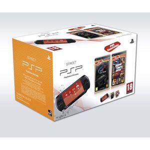 CONSOLE PSP PACK PSP STREET+GRAN TURISMO+GTA LIBERTY CITY