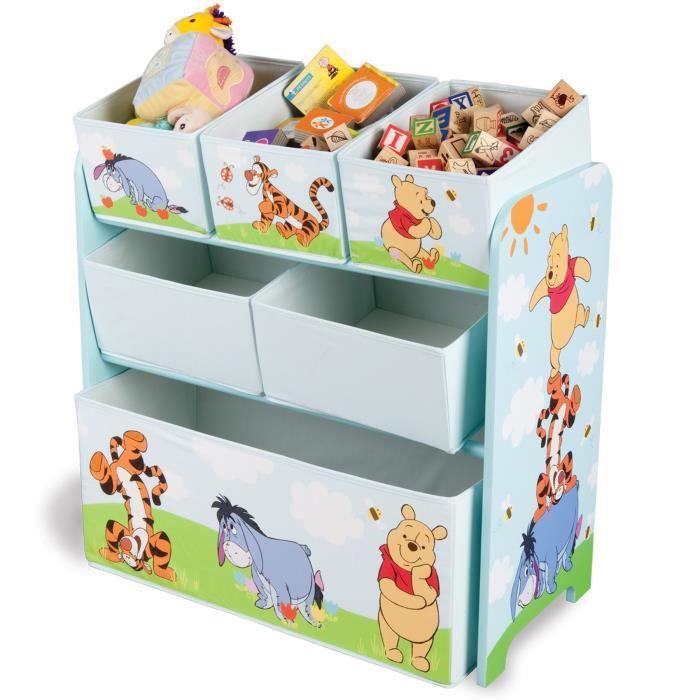 WINNIE LOURSON Meuble de rangement enfant jouets 6 bacs - Achat ...