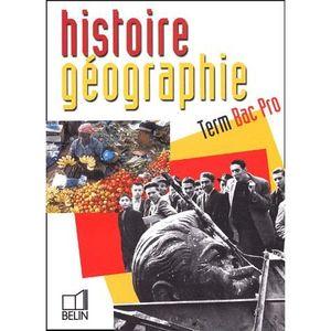 MANUEL BAC PRO BEP CAP Histoire géographie Tle Bac Pro
