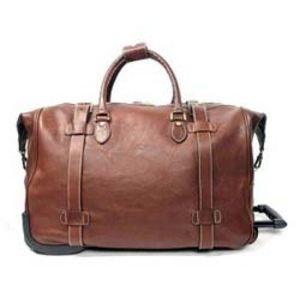 sac de voyage en cuir 33158 marron marron achat vente. Black Bedroom Furniture Sets. Home Design Ideas