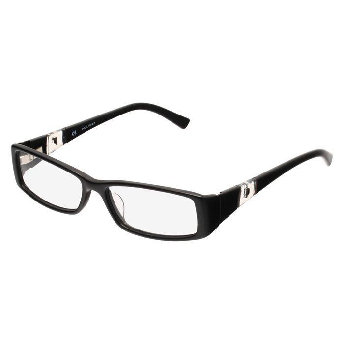 police monture de lunettes de vue mixte noir achat vente lunettes de vue police monture de. Black Bedroom Furniture Sets. Home Design Ideas
