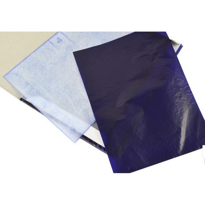 papier carbone bleu manuel a4 100 feuilles achat vente. Black Bedroom Furniture Sets. Home Design Ideas