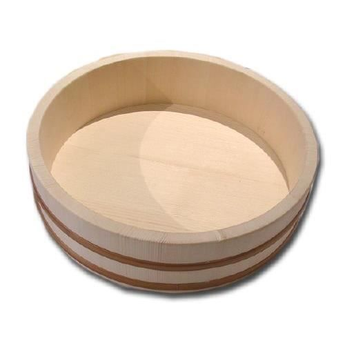 hangiri plat en bois pour preparer le riz sushi achat. Black Bedroom Furniture Sets. Home Design Ideas