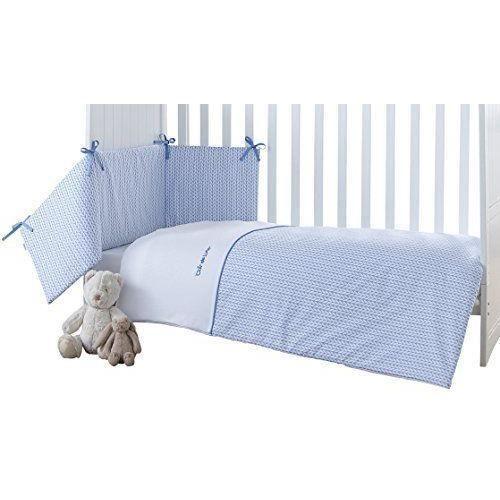 clair de lune d orge b b lit couette et pare chocs bleu. Black Bedroom Furniture Sets. Home Design Ideas