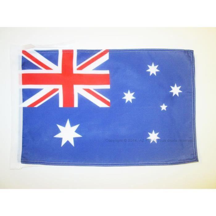 Drapeau australie 45x30cm australien haute qualit for Linge de maison haute qualite