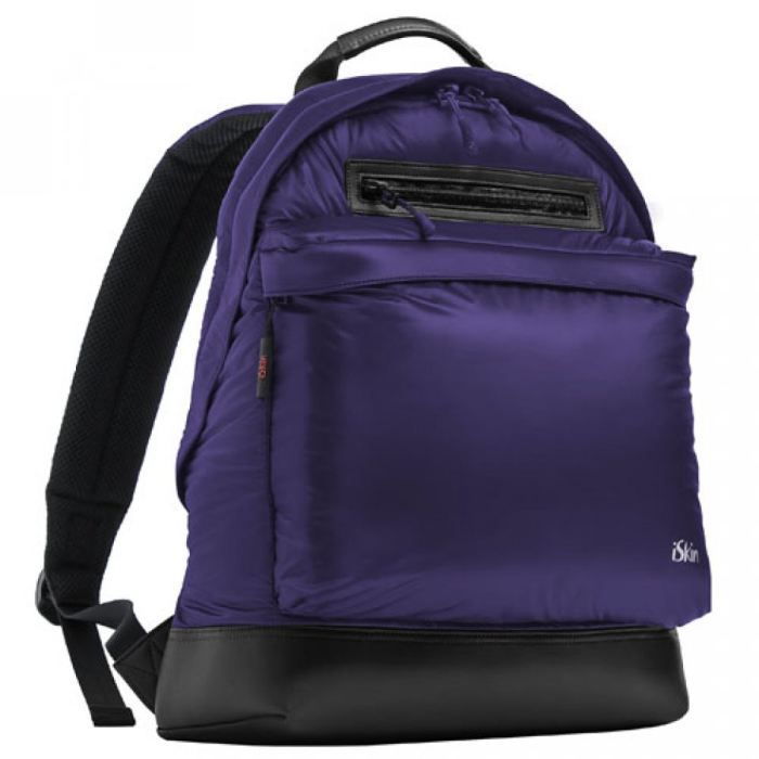 sac dos rembourr iskin shelby violet achat vente. Black Bedroom Furniture Sets. Home Design Ideas