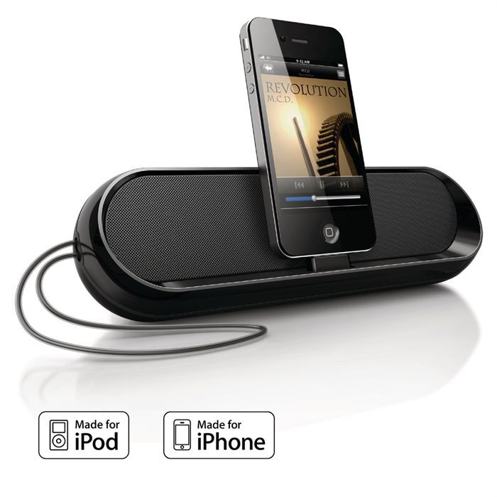 philips ds700 station d 39 accueil mobile ipod iphone. Black Bedroom Furniture Sets. Home Design Ideas