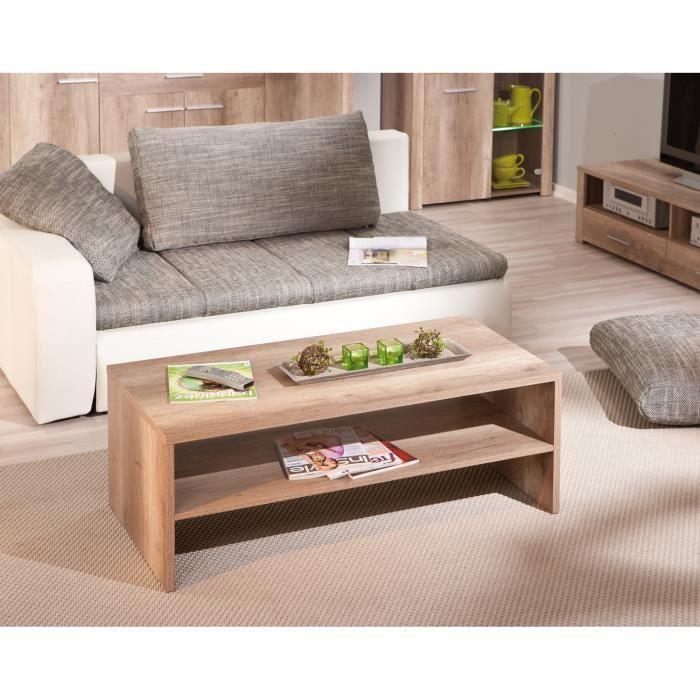 Table basse volupto achat vente table basse table - Table de salon en bois design ...