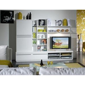 bibliotheque blanche. Black Bedroom Furniture Sets. Home Design Ideas
