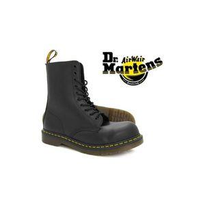 BOTTINE Chaussure Dr Martens 1919 Coquées noir