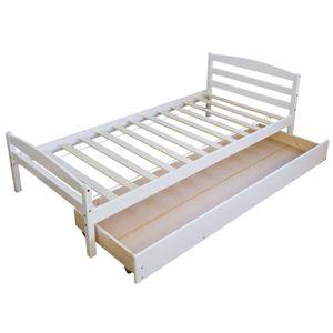 lit enfant blanc achat vente lit enfant blanc pas cher. Black Bedroom Furniture Sets. Home Design Ideas