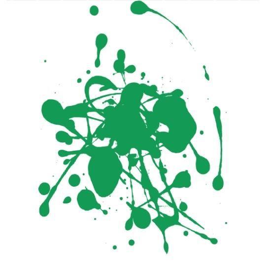 stickers taches de peinture vert achat vente stickers cdiscount. Black Bedroom Furniture Sets. Home Design Ideas