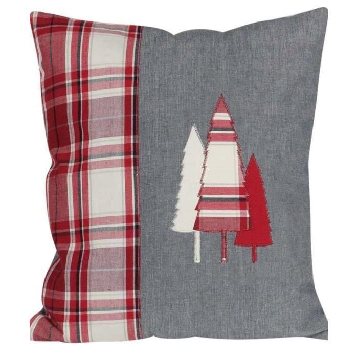 coussin motif montagne d houssable 40 x 40 cm p achat vente coussin cdiscount. Black Bedroom Furniture Sets. Home Design Ideas