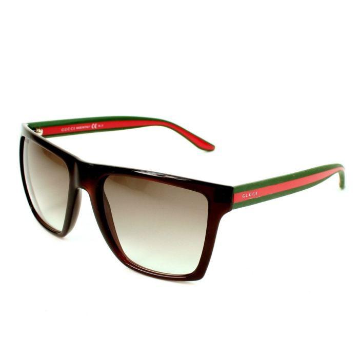 gucci gg3535s 5d65m marron achat vente lunettes de. Black Bedroom Furniture Sets. Home Design Ideas