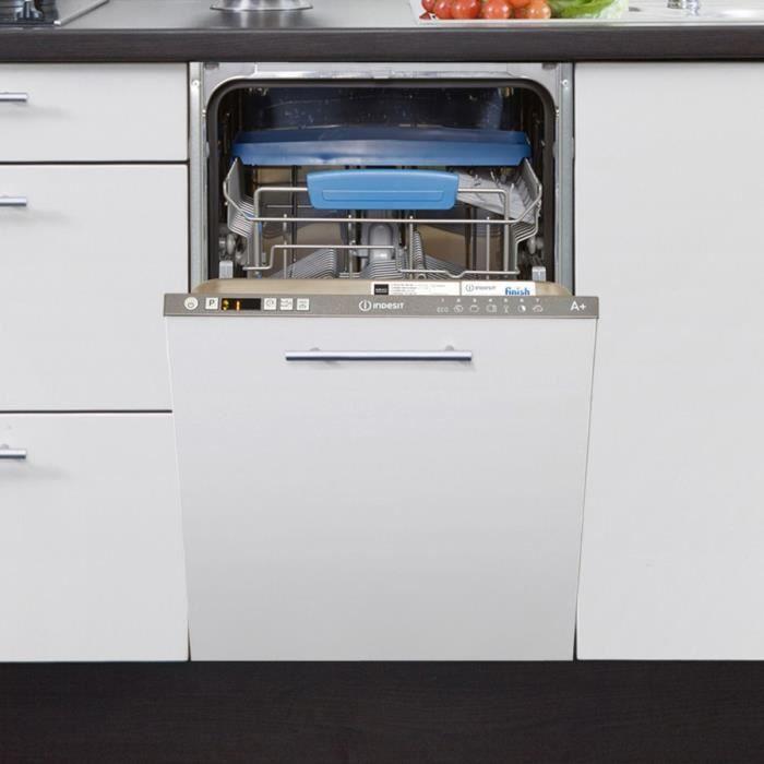 lave vaisselle tout int grable indesit disr57m19ca eu achat vente lave vaisselle cdiscount. Black Bedroom Furniture Sets. Home Design Ideas