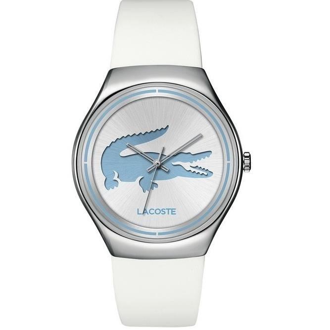 lacoste montre pour femme valencia 2000839 gris argent achat vente montre cdiscount. Black Bedroom Furniture Sets. Home Design Ideas