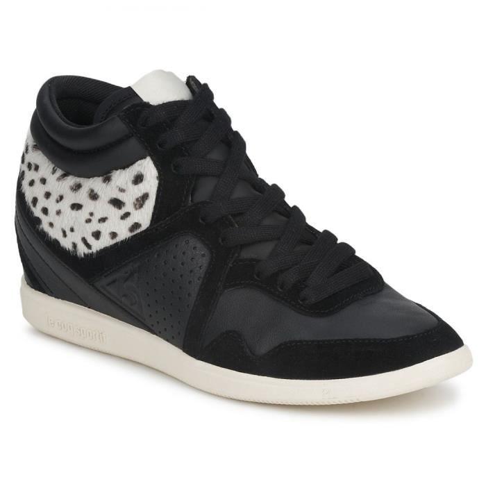 chaussure femme le coq sportif m noir achat vente basket cdiscount. Black Bedroom Furniture Sets. Home Design Ideas