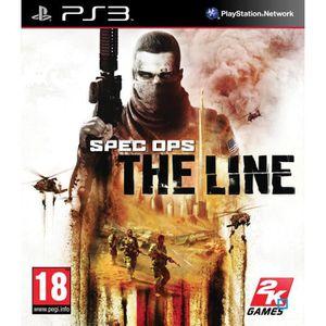 JEU PS3 SPEC OPS: THE LINE / Jeu console PS3