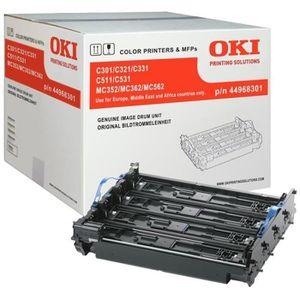 OKI Kit tambour 44968301 - Compatible 44968301 - Noir - Capacité standard 30.000 pages