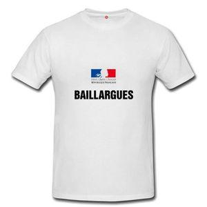 T-SHIRT T-shirt baillargues homme et femme unisex