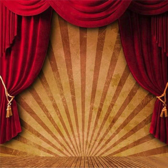 tempsa toile de fond backdrop tissu 3x3m cirque sc ne photographie studio photo rideaux rouge. Black Bedroom Furniture Sets. Home Design Ideas