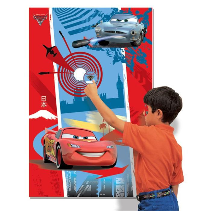 jeux pour enfant cars achat vente d cors de table jeux. Black Bedroom Furniture Sets. Home Design Ideas