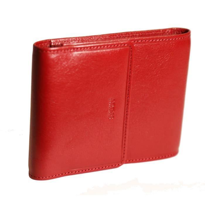 Fancil porte ch quier pliant cuir couleur rouge rouge for Porte 2 couleurs