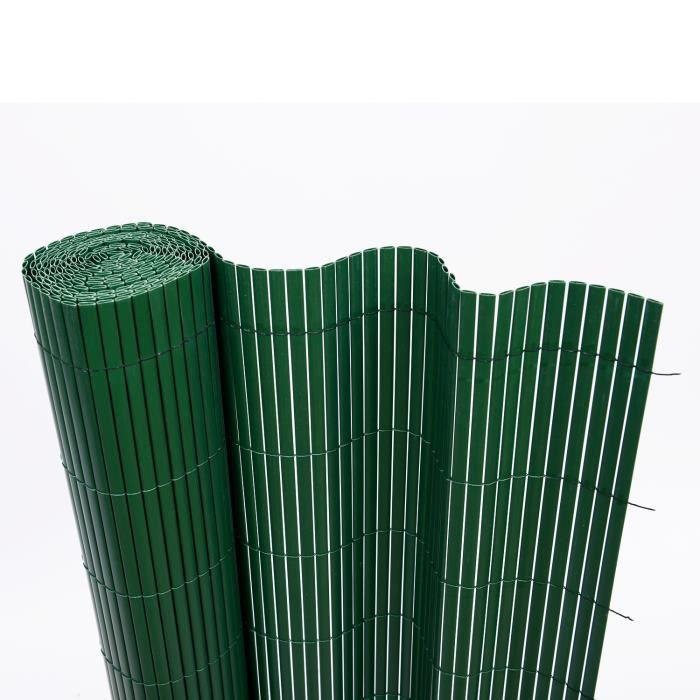 Canisse pvc imitation bambou artificielle cl ture achat vente cl ture barri re canisse pvc - Cloture jardin en pvc ...
