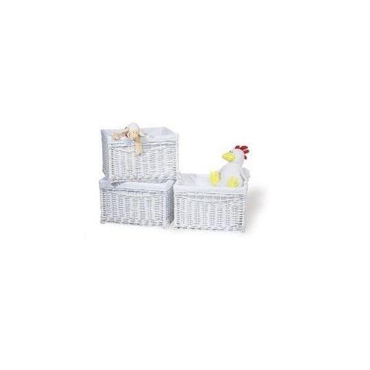 panier en osier krista couleur blanche achat vente petit rangement panier en osier krista. Black Bedroom Furniture Sets. Home Design Ideas