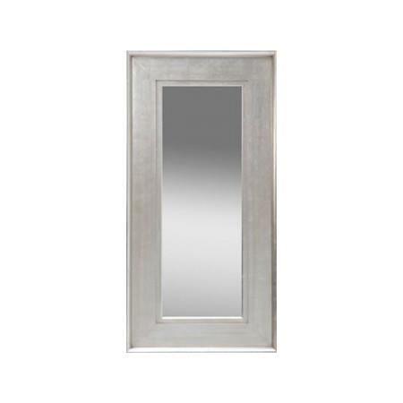 Miroir design spartiat argent 195 cm achat vente for Miroir long design