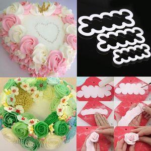 MOULE  3pcs Moule fleur modèle Decor Mold gâteau moule ch