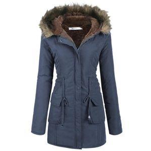 manteau femme bleu achat vente manteau femme bleu pas cher. Black Bedroom Furniture Sets. Home Design Ideas