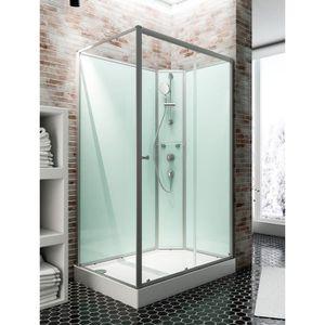 cabine de douche 140 achat vente cabine de douche 140 pas cher les soldes sur cdiscount. Black Bedroom Furniture Sets. Home Design Ideas