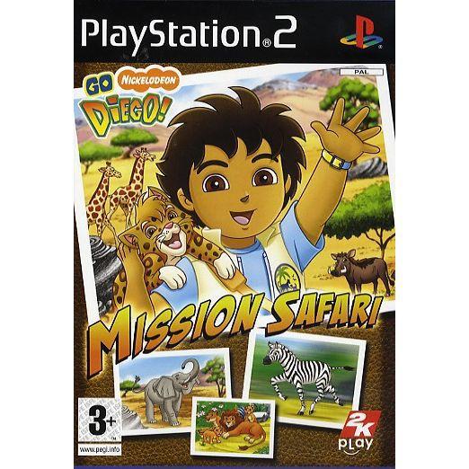 JEU PS2 GO DIEGO : MISSION SAFARI / JEU CONSSOLE PS2