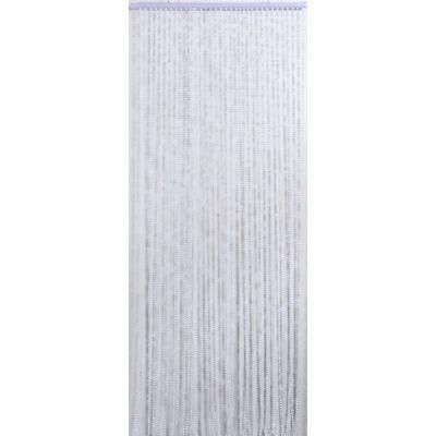 Rideau de porte perles facettes couleur iris achat - Rideau de porte en perles transparentes ...