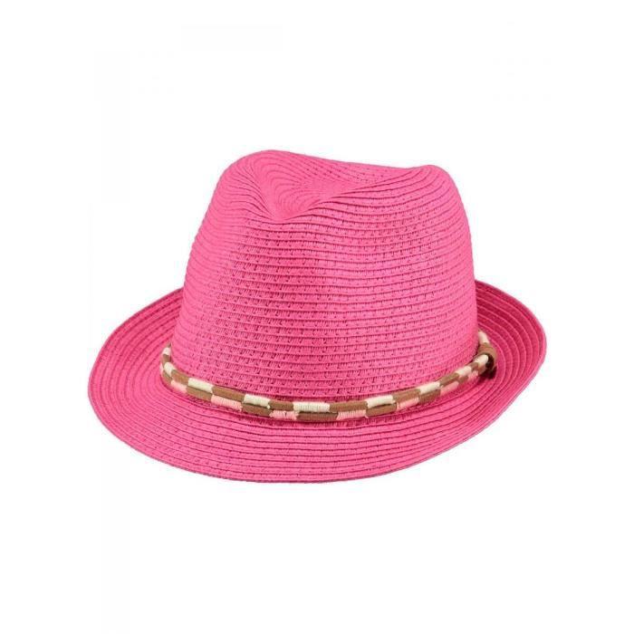 barts chapeau en paille rose b b fille du 1 achat vente chapeau bob 1026050037703. Black Bedroom Furniture Sets. Home Design Ideas